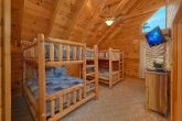 Queen Bunk Beds with Arcade and Full Bathroom