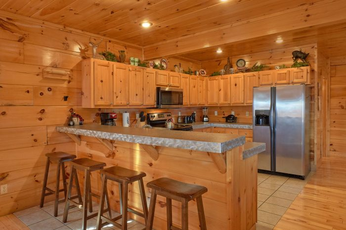 Spacious Cabin with Bar and Full Kitchen - Majestic View