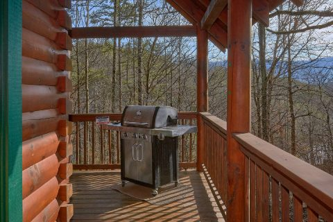 4 Bedroom Cabin with Gas Grill near Pigeon Forge - Major Oaks