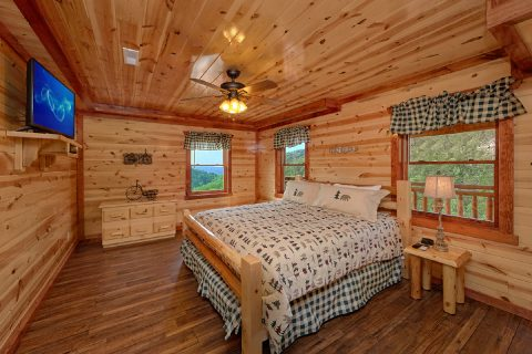 5 Bedroom Cabin with 5 King Beds - Makin' Waves