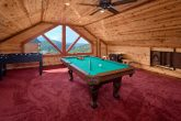 5 Bedroom Cabin with a Pool Table
