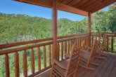 5 Bedroom Cabin with Rocking Chairs on the Decks