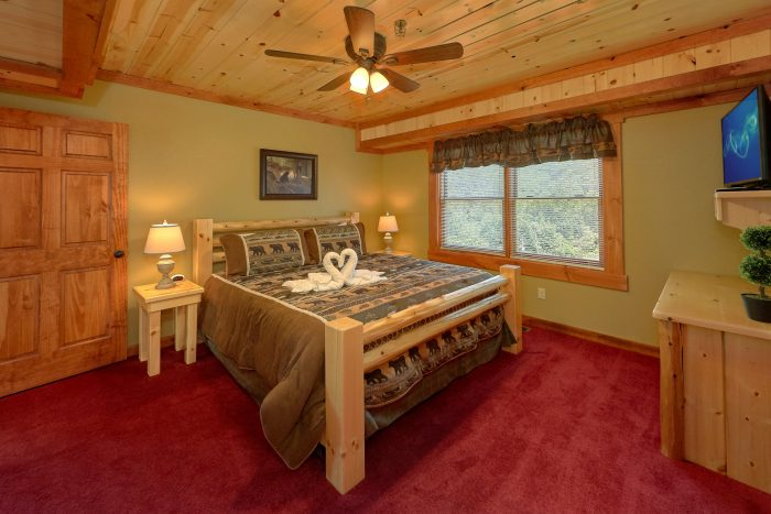 8 Bedroom Cabin with ceiling fans in bedrooms - Marco Polo