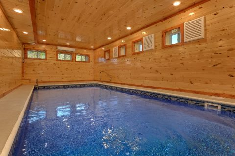 8 Bedroom Cabin with a Private Indoor Pool - Marco Polo