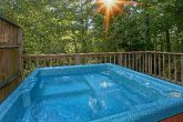 Rustic 1 Bedroom Cabin with Hot Tub and Views