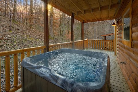 Privater Hot Tub 4 Bedroom Cabin with Pool - Mirror Pond