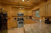 Gatlinburg 4 Bedroom Cabin Large Open Kitchen