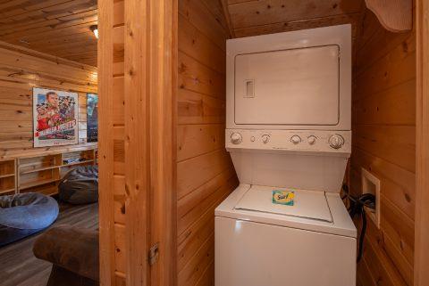 Washer and Dryer 4 Bedroom Cabin Sleeps 10 - Moonlight Getaway