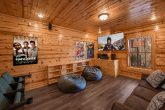 Theater Room 4 Bedroom Cabin Sleeps 10