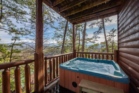 4 Bedroom 3 Bath Cabin in Summit View Hot Tub - Moonlight Getaway