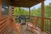 Gatlinburg Cabin with Grill and covered deck