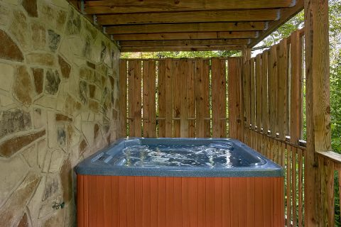Premium Cabin with Private Hot Tub - Moonshine Inn