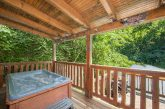 1 bedroom cabin with Private Hot Tub on deck