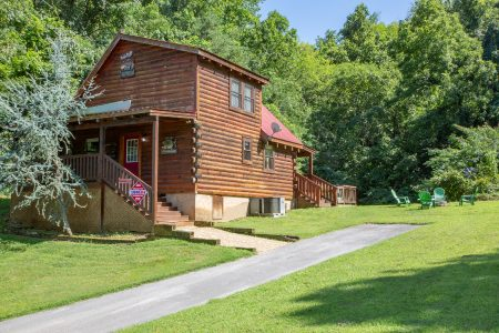 Amazing Sunset: 1 Bedroom Sevierville Cabin Rental