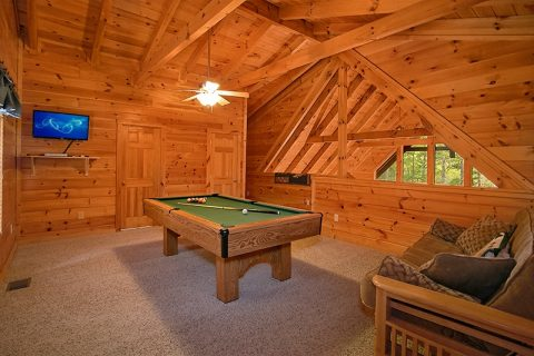 1 Bedroom Cabin with Pool Table & Futon - Moose Tracks