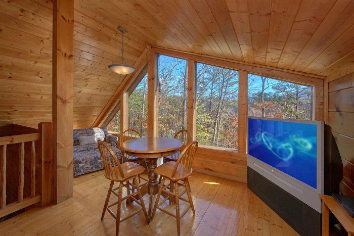 3 Bedroom Cabin Sleeps 9 with Twin Sleeper - Morning Mist
