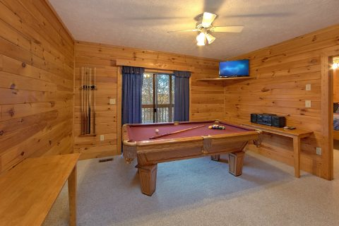 4 Bedroom Cabin with Game Room and Pool Table - Mountain Fever