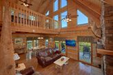 Rustic Cabin with Spacious Living area for 4