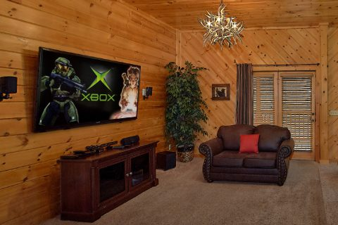 Game Room with TV and Extra Seating - Mountain Retreat