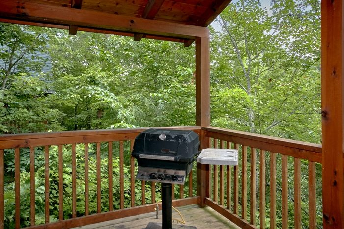 Cabin with Grill and Hot Tub - Mountain Star