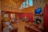 5 Bedroom Cabin with Stone Fireplace and Rockers
