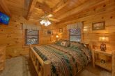 5 bedroom cabin with King bed on main floor