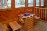 Rustic Cabin with Arcade Game and Pool Table