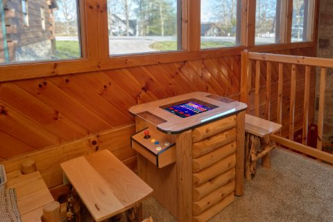Rustic Cabin with Arcade Game and Pool Table - Mountain Time