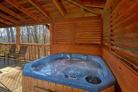 Private Hot Tub at 5 bedroom cabin - Mountain Time