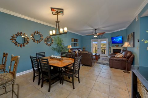 Condo in Pigeon Forge with Fireplace and View - Mountain View 2607