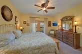 Spacious King bedroom in PIgeon Forge Condo