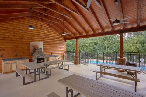 Smoky Mountain Ridge Community Pool Area - Mountain View Pool Lodge