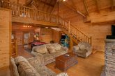 8 Bedroom Cabin Sleeps 24 with Large Spaces