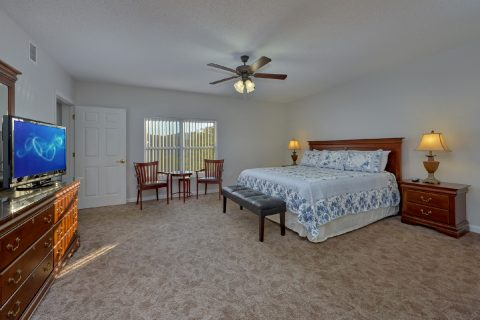 Spacious Master Bedroom - My Pigeon Forge Retreat