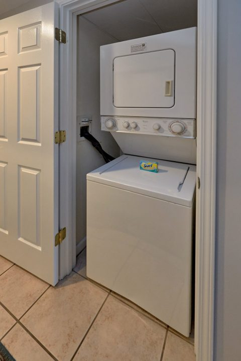 Washer and Dryer 3 Bedroom Condo - My Pigeon Forge Retreat