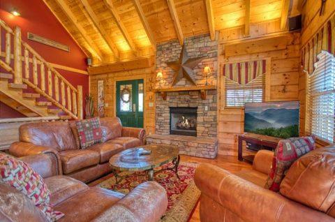 Luxury 5 Bedroom Sleeps 20 - Mystic Ridge