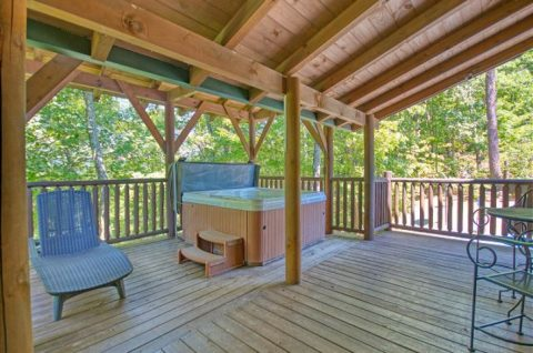 Private Hot Tub Beautiful 5 Bedroom Cabin - Mystic Ridge