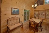 2 bedroom luxury cabin with spacious dining room