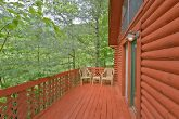 Cabin with wooded location and private deck