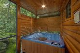 2 Bedroom Cabin with Private Hot Tub