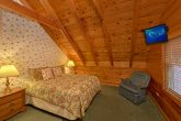 3 Private Queen bedrooms in Gatlinburg Cabin