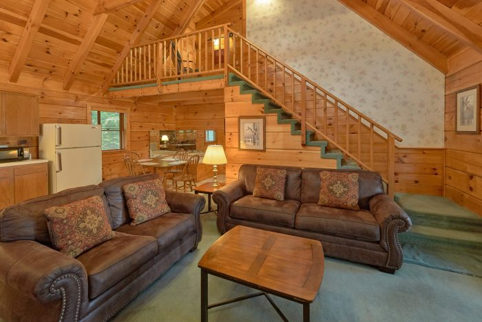 Rustic 2 Bedroom cabin with Fireplace - Oakland #3