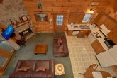 2 bedroom cabin with fireplace and sleeper sofa