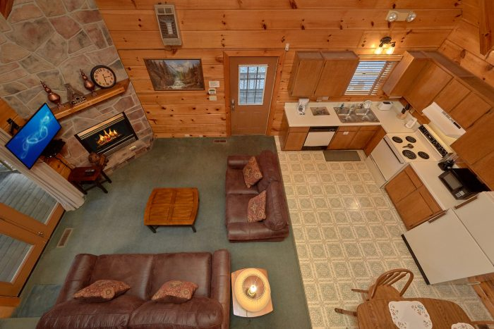 2 bedroom cabin with fireplace and sleeper sofa - Oakland #3