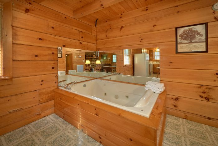 Rustic 3 bedroom cabin with Jacuzzi tub - Oakland #3