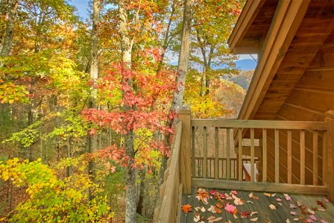 Cabin with private deck, mountain view, hot tub - Oakland #4