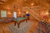 Spacious Cabin with Pool Table and Sleeper Sofa