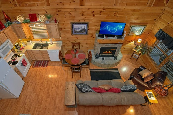 1 Bedroom Cabin with a Loft Gameroom - Our Happy Place