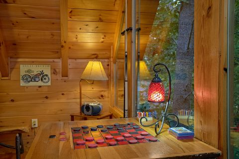 Smoky Mountain Cabin with Checkers - Our Happy Place
