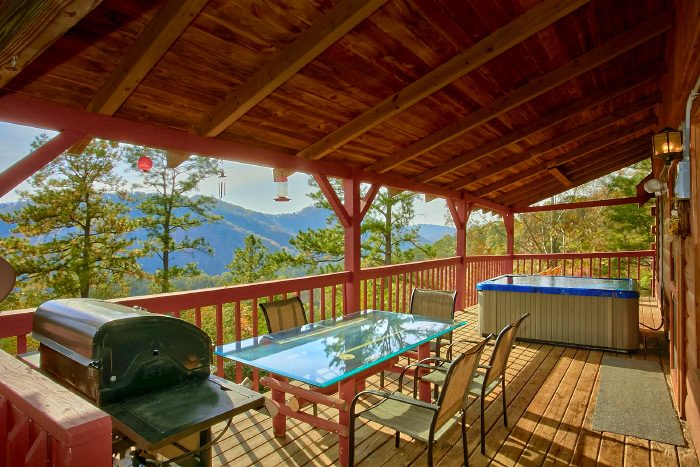 Cabin with grill and mountain View - Owl's Mountain View